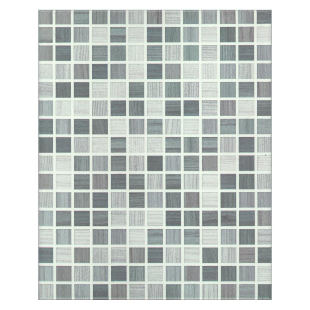 กระเบื้อง 8x10 in.<br>ALD-111 ไมโครเกรย์