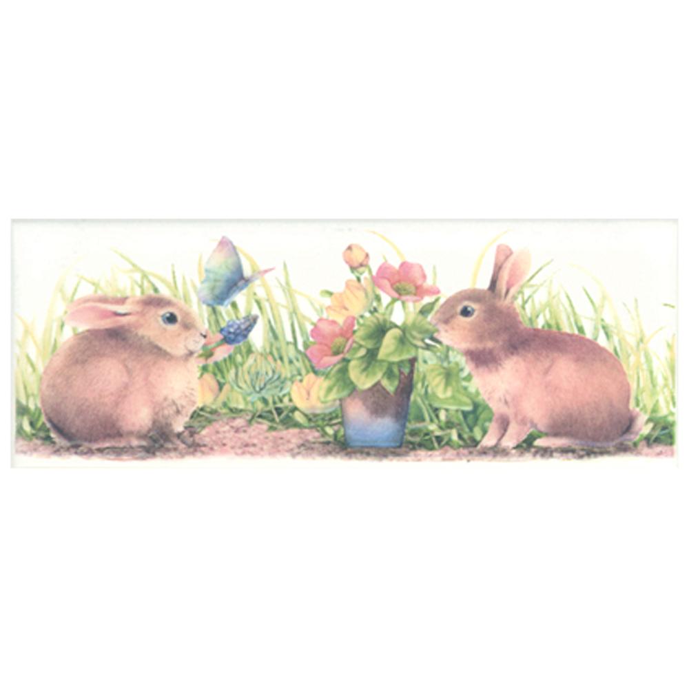 กระเบื้อง 3x8 in.<br>กระต่ายป่า 3T/1P